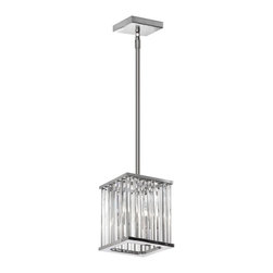Dainolite - Dainolite Aruba ARU-92P-PC Pendant Multicolor - ARU-92P-PC - Shop for Pendants from Hayneedle.com! The Dainolite Aruba ARU-92P-PC Pendant suspends its shimmering crystal prisms from a polished chrome rod hanging system. Glamorous and contemporary this pendant light fixture requires two 60-watt bulbs not included. About DainoliteDainolite is a leader in creating contemporary lighting options for the home and office. Dainolite was founded in 1987 and is based in Mississauga Ontario. They have a wide range of lighting products and take pride in offering innovative designs for today's lighting market. Dainolite also makes custom lamp shades under its trusted Micheline brand name. They offer a lighting solution for every room in the home and office. From floor lamps to chandeliers Dainolite has you covered.