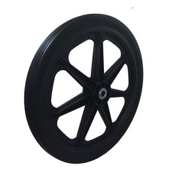 "Marathon Industries - Flat Free Cart Tire for Lawn, Garden, Marina, 20x2.0"" - Marathon Industries 20x2.0"" Flat Free Lawn, Garden, Marina Cart Tire"
