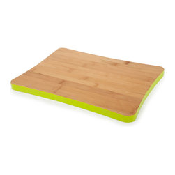 Bamboo Cutting Board - Made of renewable bamboo that is harder than most traditional hardwoods. This cutting board is maintenance free and will not dull your knives. Perfect for food prep, presentation and serving.