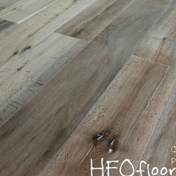 Oasis Carmel Collection - Carmel Collection Pebble Beach wire-brushed oak hardwood. Available at HFOfloors.com.
