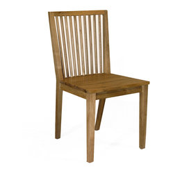 Stockholm Dining Chair, Natural Walnut
