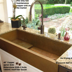 eclectic kitchen sinks by The USA Home