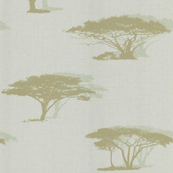 Brewster - National Geographic Home Serengeti Wallpaper - Explore the Serengeti without leaving home. This safari-inspired wallpaper in subtle tones adds a sense of adventure to your favorite setting.