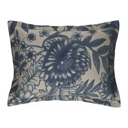MysticHome - Hibiscus - Boudoir Pillow by MysticHome - The Hibiscus, by MysticHome