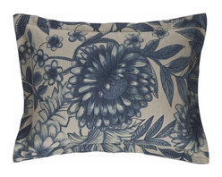 Mystic Valley - Hibiscus - Boudoir Pillow by Mystic Valley Traders - The Hibiscus, by Mystic Home