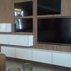 Contemporary Home Theater by Kitchen Distributors, Inc-Arkansas