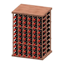 "Vinotemp Rack-6CHT-PR 6 Column Premium Redwood 120 Bottle Decanting Table - This 6 column half-height with tabletop rack keeps your bottles safely organized individually, as it provides an attractive and functional wine storage area for up to 120 bottles. Its 3 3/4"" cubicles are designed to fit most 750-ml bottles. This rack is double-deep. The tabletop is a nice addition to the rack to place other items on. Vinotemp never use glue to hold our racks together because it can weaken over time. This wine rack kit is hand made in our Southern California factory and crafted from Premium Redwood, it is ideal for starting or expanding any wine collection. Features: - 6 column, double-deep wood wine rack - Decanting Table - Premium Redwood - Universal 3 3/4"" racking fits most bottle sizes - Bottle capacity: 120 individual bottle spaces - Dimensions: 28 1/8"" W x 22 1/4"" D x 40 1/4"" H"
