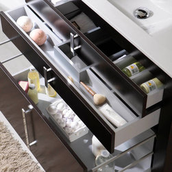 Macral Global Group. - Macral Roma 39 and 1/4 inches. bathroom storage. - Made in Spain.