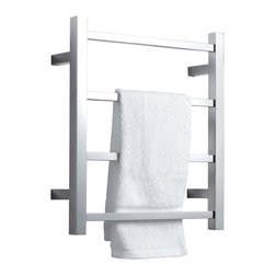 Virtu USA - Virtu USA Koze Collection VTW-120A Towel Warmer - Koze, by Virtu USA, combines technology and comfort to bring you a luxurious european experience with towel warmers. Caress yourself in the coziness of a soft and warm towel after a refreshing shower or a tranquilizing bathe. Koze towel warmers are crafted from quality brushed stainless steel and gracefully finished in a variety of options for a gorgeous appeal.