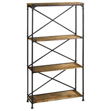 Industrial Bookcases by Chachkies