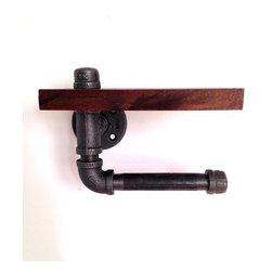 Reclaimed Wood Toilet Paper Holder - Your toilet paper never looked so good.