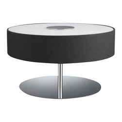 Philips Luminaire - Circular 3-Light Roomstylers Table Lamp - Light up your living room or office with a classic midcentury modern piece. Whether you go with black or matte chrome hardware, the warm glow from this lamp will complement your living or work space effortlessly. It's an ideal choice for your sophisticated aesthetic.