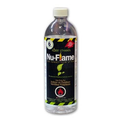 Nu-Flame - Nu-Flame Ethanol Fuel 1 Liter Bottles, 12 Pack - Due to our commitment to the safety of our customers each bottle is equiped with The Safety-Pour valve. This protection feature consists of 2-way check valve insert prevents the accidental ignition of fuel inside the bottle.