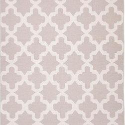 Jaipur - Jaipur Rug-Aster-Classic Grey - Design: AsterColor: Classic Gray/Classic GrayConstruction: Flat WeaveStyle: Flat-WeaveFiber: 100% WoolPile: FlatOrigin: India Sizes2x3 , 2.6x8, 3.6x5.6, 5x8, 8x10, 9x12