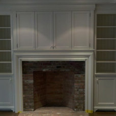 Traditional Storage Cabinets by Toby Leary Fine Woodworking Inc.
