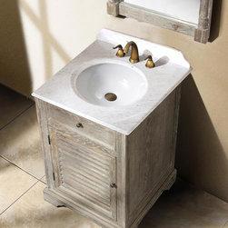 "23.75"" Prata Single Bath Vanity - Driftwood -"