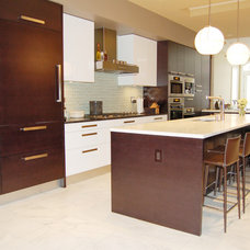 Modern Kitchen Cabinets by Prestige Designs