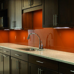 contemporary kitchen tile by Dreamwalls Glass