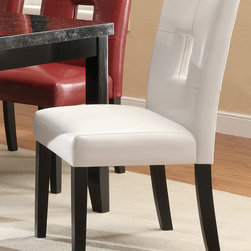 Coaster - Newbridge Collection White Side Chair, Set of 2 - Newbridge Collection White Side Chair, Set of 2.