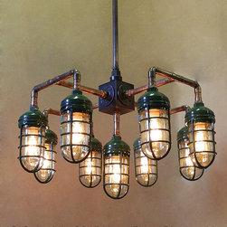 Plumber's d Lite Chandelier - Hans Duus Blacksmith
