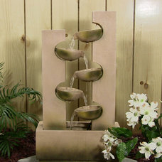 Tropical Outdoor Fountains by Serenity Health & Home Decor