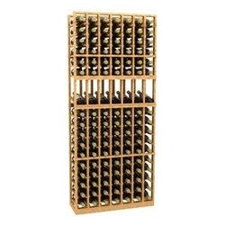 7 Column Display Wood Wine Rack - The 7 Column Display Wood Wine Rack is part of our 6' Series.