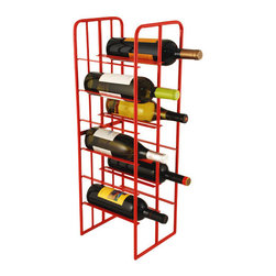 Urban 12-bottle wine rack - Sophisticated and efficient, this 12-bottle wine rack will add organization and style to your wine collection.