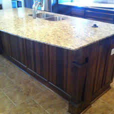 Traditional Kitchen Islands And Kitchen Carts by Grabince Custom Divisions
