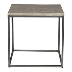 Vanguard - Tully Lamp Table - Oiled Rubbed Bronze Finish (Stocked Finish)