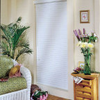 """Comfortex - Comfortex Woodwinds Plantation 2 1/2-inch ShutterBlinds - The Plantation 2 1/2"""" ShutterBlind combines the elegant look of a plantation shutter with the ease and function of a blind."""
