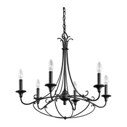 Kichler Lighting - Chandelier 6Lt - Chandelier 6Lt
