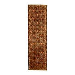 eSaleRugs - 3' 11 x 13' 2 Hossainabad Persian Runner Rug - SKU: 110891546 - Hand Knotted Hossainabad rug. Made of 100% Wool. 20-25 Years.