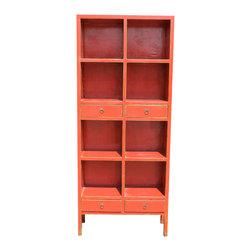 Mortise & Tenon - Radnor Bookcase - a one a kind asian inspired bookcase.