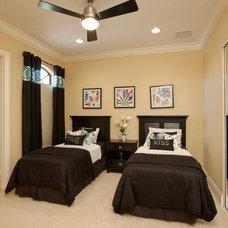 Contemporary Bedroom by Dreamstar Custom Homes