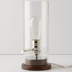 Menlo Lamp - This sweet lamp would be happily at home lighting up the darkest corner of my house.