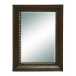 Benzara - Elegant Looking Glass Style Mirror with Classical Frame - Elegant Looking Glass style Mirror with Classical Frame. This looking glass is just what you are looking for to complete your foyer or hallway decoration.