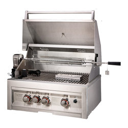"Sunstone Grills - INFRARED 3 BURNER W/LIGHTS 28"" - Quick Overview"