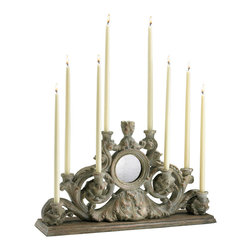 Cyan Design - Cyan Design Lighting 04104 European Candleholder - Cyan Design 04104 European Candleholder