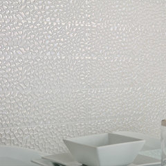 contemporary bathroom tile Moon Light - Dune - 6x24 ceramic tile