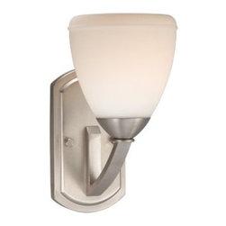 Vaxcel Lighting - Vaxcel Lighting HS-VLU001 Helsinki 1 Light Bathroom Sconce - Features: