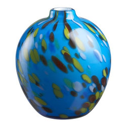 Ziggy Turquoise Vase - What's so great about these vases is that they cost $14.95 but they look much more expensive. In fact,  the giftees may even think you hogged up room in your suitcase lugging them home from Venice just for them!
