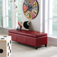 Traditional Footstools And Ottomans by Grandin Road