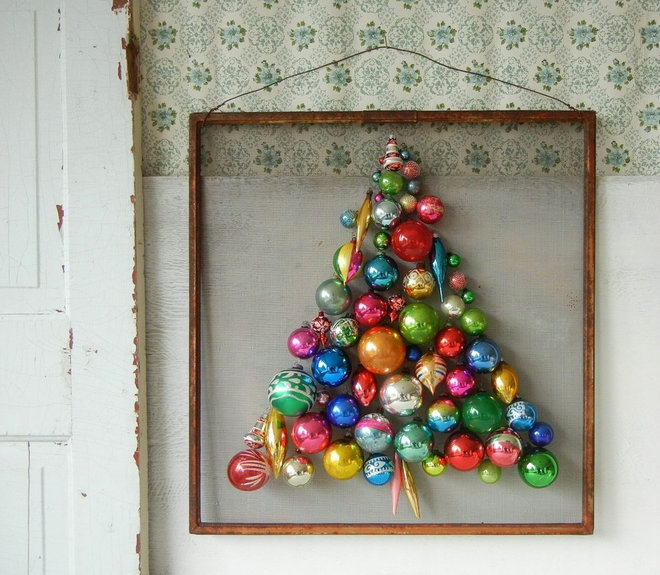 11 New Uses For Old-School Christmas Ornaments