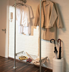 modern clothes racks Modern Indoor Clothing and Coat Rack