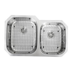 Kraus - Stainless Steel Rinse Basket for Kitchen Sink - The Kraus Rinse basket is the ideal accessory for any kitchen sink
