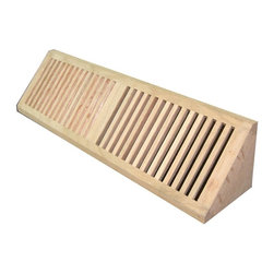Welland - Welland 15 Inch Brazilian Cherry Wood Baseboard Diffuser Unfinished - Vent cover