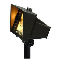 Hinkley Lighting - Hinkley Lighting H1520 12v 50w Die-Cast Aluminum Outdoor Clear Glass Flood Light - Hinkley Landscape Lighting 1520 Low Voltage Outdoor Flood LightLandscape lighting allows you to enjoy the beauty of your home and surrounding property after sunset. You can control the appearance of your landscape with strategic use of light while providing safety for your family and visitors.
