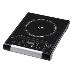 Sunpentown - Micro-Computer Radiant Cooktop - Portable radiant cook top gives you convenience, durability and elegance. Radiant heat technology offers rapid heating with 8 power settings and is suitable with any type of cookware. Glass ceramic plate and and touch-sensitive control panel adds beauty to any kitchen and cooking environment.