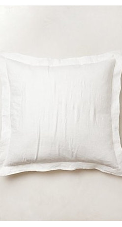 Anthropologie - Sophie Linen Euro Sham - *Natural linen