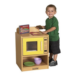 ECR4KIDS - ECR4KIDS Colorful Essentials Play Microwave Oven - ELR-0749-BL - Shop for Cooking and Housekeeping from Hayneedle.com! About Early Childhood ResourcesEarly Childhood Resources is a wholesale manufacturer of early childhood and educational products. It is committed to developing and distributing only the highest-quality products ensuring that these products represent the maximum value in the marketplace. Combining its responsibility to the community and its desire to be environmentally conscious Early Childhood Resources has eliminated almost all of its cardboard waste by implementing commercial Cardboard Shredding equipment in its facilities. You can be assured of maximum value with Early Childhood Resources.
